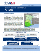 Climate Change Risk Profile: Ghana