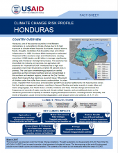 Climate Change Risk Profile: Honduras