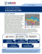 Climate Risk Profile: Kazakhstan