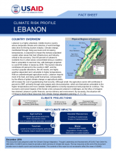 Climate Risk Profile: Lebanon