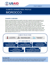 Climate Change Risk Profile: Morocco
