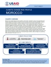 Climate Change Risk Profile: Morocco