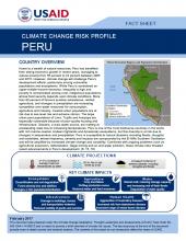 Climate Risk Profile: Peru