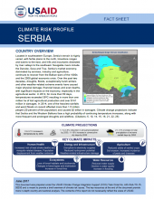 Climate Change Risk Profile: Serbia