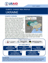 Climate Change Risk Profile: Ukraine