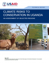 Climate Risks to Conservation in Uganda
