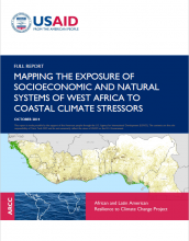 Full Report: Mapping the Exposure of Socioeconomic and Natural Systems of West Africa to Coastal Climate Stressors