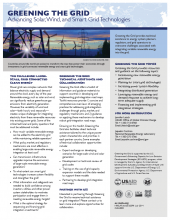 Greening the Grid Fact Sheet