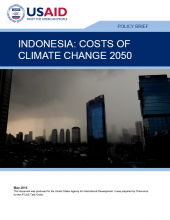 Indonesia: Costs of Climate Change 2050 – Policy Brief