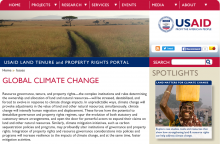 USAID Land Tenure and Property Rights Portal