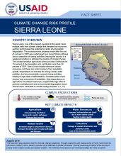 Climate Change Risk Profile: Sierra Leone