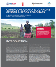 Cameroon, Ghana & Uganda's Gender & REDD+ Roadmaps