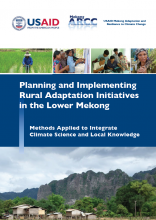 Planning and Implementing Rural Adaptation Initiatives in the Lower Mekong