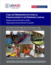 Caja de Herramientas para el Financiamiento de Energias Limpias