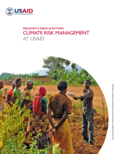 Frequently Asked Questions: Climate Risk Management at USAID