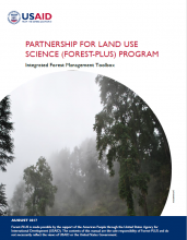 User Manual: Integrated Forest Management Toolbox