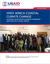 West Africa Coastal Climate Change National Adaptation Planning Workshop
