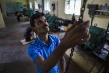 Working in Chennai water treatment
