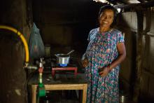 Cooking with biogas greatly reduces firewood consumption, improving women's health and enabling forests to regenerate and increase protection from landslides and floods.