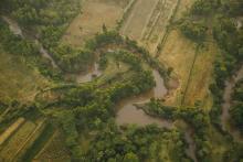 Mara River Basin from above.