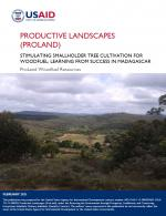 ProLand Madagascar case study cover page