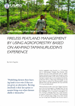 Fireless Peatland Management by Using Agroforestry Resource Image