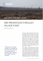 Fire Prevention Through Village Fund Resource Image