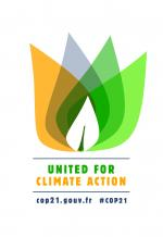"France, this year's secretariat for climate talks, released a new ""united for climate action"" logo which is free for all non-commercial uses."