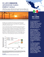 EC-LEDS Mexico: Advancing Clean Energy Goals