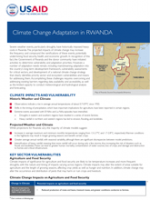 Climate Change Adaptation in Rwanda Fact Sheet Thumbnail