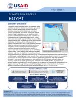 Climate Change Risk Profile: Egypt