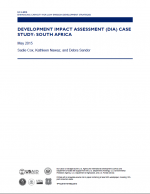 Development Impact Assessment (DIA) Case Study: South Africa
