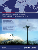 Distributed Generation to Support Development-Focused Climate Action