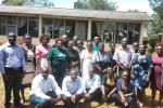 EC-LEDs team members with national and county government officials during capacity building training on CSA in Busia, Kenya.