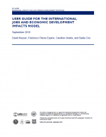User Guide for the International Jobs and Economic Development Impacts Model
