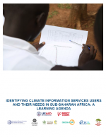 Identifying CIS Users and Their Needs in sub-Saharan Africa