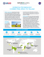 SERVIR Global: Science & Technology Connecting Space to Village