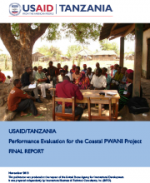 Performance Evaluation for the Coastal PWANI Project