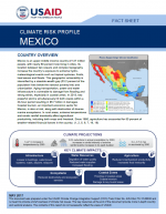 Climate Change Risk Profile: Mexico