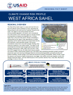 Climate Change Risk Profile: West African Sahel