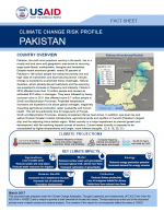 Climate Change Risk Profile: Pakistan