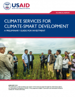 Climate Services for Climate-Smart Development