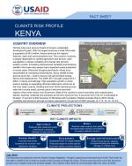 Kenya climate risk profile cover page