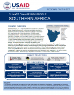 Climate Change Risk Profile: Southern Africa
